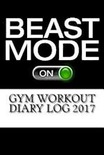 Gym Workout Diary Log 2017