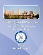 Beta Omicron SIGMA 2016 Annual Report