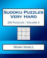 Sudoku Puzzles Very Hard Volume 3