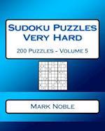 Sudoku Puzzles Very Hard Volume 5