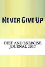 Diet and Exercise Journal 2017