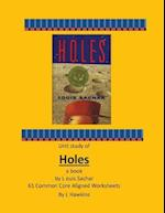 Holes by Louis Sachar 61 Common Core Aligned Worksheets