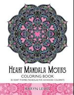 Heart Mandala Motifs Coloring Book af Karyn Lewis