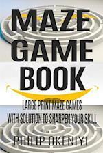 Maze Game Book