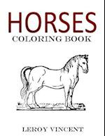 Horses Coloring Book