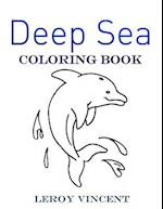 Deep Sea Coloring Book