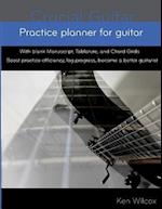 Practice Planner for Guitar