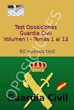 Test Oposiciones Guardia Civil