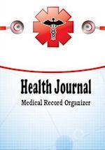 Health Journal Medical Record Organizer