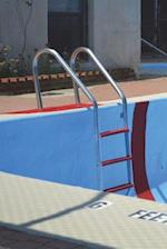 Stainless Steel Ladder in the Swimming Pool Journal