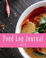 Food Log Journal 2017