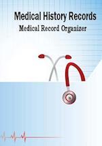 Medical History Records Medical Record Organizer