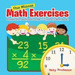 One Minute Math Exercises - Multiplication Workbook Grade 3 | Children's Math Books