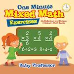 One Minute Mixed Math Exercises - Multiplicaton and Division | Children's Math Books