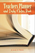Teachers Planner and Daily Notes Book