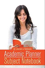 Academic Planner and Subject Notebook