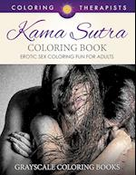 Karma Sutra Coloring Book (Erotic Sex Coloring Fun for Adults) | Grayscale Coloring Books
