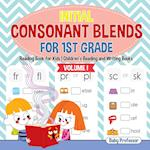 Initial Consonant Blends for 1st Grade Volume I - Reading Book for Kids | Children's Reading and Writing Books
