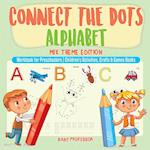 Connect the Dots Alphabet - Mix Theme Edition - Workbook for Preschoolers   Children's Activities, Crafts & Games Books