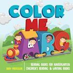Color Me ABC - Reading Books for Kindergarten   Children's Reading & Writing Books