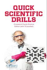 Quick Scientific Drills | Crossword Puzzle Science Edition (with 70 puzzles!)