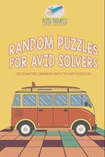 Random Puzzles for Avid Solvers | Crossword Omnibus (with 70 Easy Puzzles!)