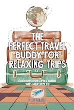 The Perfect Travel Buddy for Relaxing Trips | Crossword Travel Book with 46 Puzzles