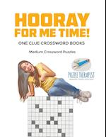 Hooray for Me Time! | Medium Crossword Puzzles | One Clue Crossword Books