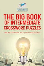 The Big Book of Intermediate Crossword Puzzles | Books for Brain Help (with 50 puzzles!)