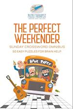 The Perfect Weekender | Sunday Crossword Omnibus | 50 Easy Puzzles for Brain Help
