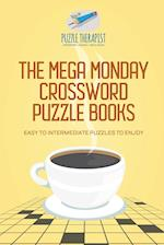 The Mega Monday Crossword Puzzle Books | Easy to Intermediate Puzzles to Enjoy