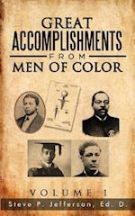 Great Accomplishments from Men of Color