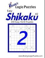 Brainy's Logic Puzzles Easy Shikaku #2