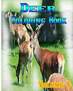Deer Coloring Books Vol.4 for Relaxation Meditation Blessing