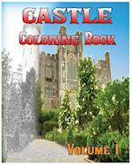 Castle Coloring Books Vol.1 for Relaxation Meditation Blessing