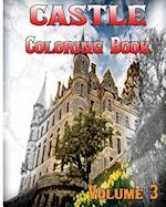 Castle Coloring Books Vol.3 for Relaxation Meditation Blessing