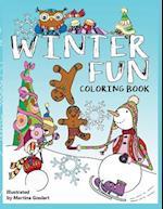 Winter Fun Coloring Book