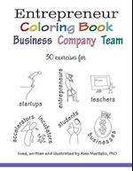 Entrepreneur Coloring Book