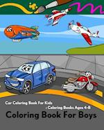 Coloring Book for Boys
