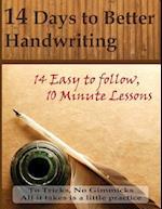 14 Days to Better Handwriting