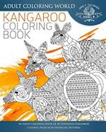 Kangaroo Coloring Book
