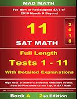 Book a Redesigned SAT Math Tests 1-11