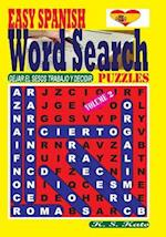Easy Spanish Word Search Puzzles. Vol. 2