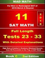Book C Redesigned SAT Tests 23-33