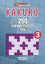 Kakuro - 250 Kakuro Puzzles 5x5 (Volume 3)