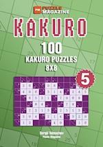 Kakuro - 100 Kakuro Puzzles 8x8 (Volume 5)