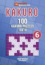 Kakuro - 100 Kakuro Puzzles 10x10 (Volume 6)