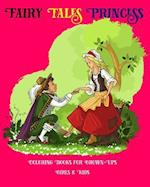 Fairy Tales Princess Coloring Books for Grown-Ups