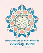 Nine-Pointed Star Mandalas, Coloring Book