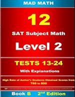 Book B L-2 Tests 13-24